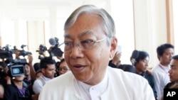 缅甸新总统吴廷觉。