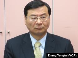 台湾财政部次长 曾铭宗(美国之音张永泰拍摄)