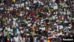 2015年4月16日南非德班反移民暴力事件游行