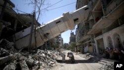"""Al Maliki fue más allá y dijo que Israel perpetró """"un genocidio, una masacre, crímenes de guerra y crímenes de lesa humanidad"""","""