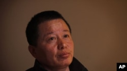 FILE - Gao Zhisheng, a Chinese human rights lawyer.