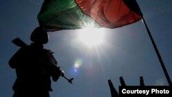 Binh sĩ Quân đội Quốc gia Afghanistan tại Kabul.