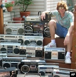 Boom Box radios and cassette players once filled the streets of New York and other cities with sound