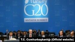 2015年在土耳其安塔利亚举行的20国集团峰会