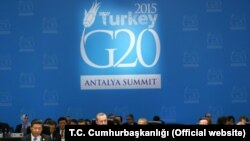 Sommet du G20 en Turquie, 15 novembre 2015.
