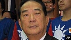 台湾亲民党主席宋楚瑜 (资料照片)