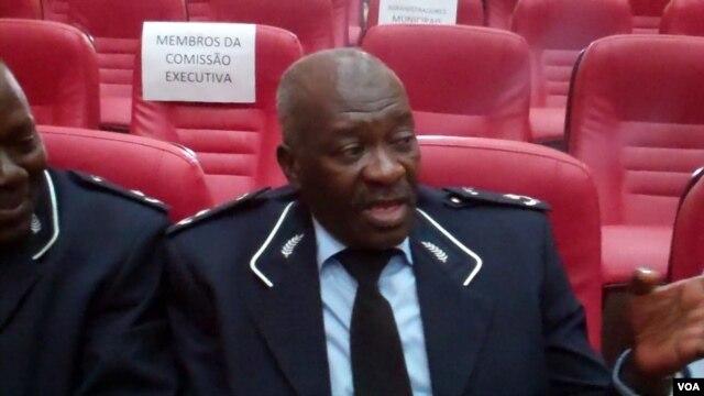 Vice comandante da polícia de Malanje, sub comissário Pedro Quiambi