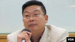 公民力量创办人杨建利(美国之音张永泰拍摄)