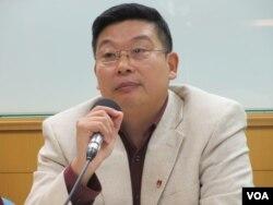 公民力量創辦人楊建利(張永泰拍攝)
