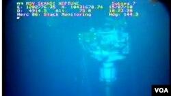 Foto BP menunjukkan tidak adanya kebocoran minyak di bawah laut selama lebih dari dua minggu.