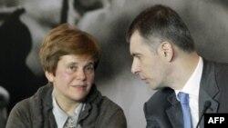 Ирина и Михаил Прохоровы