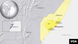 Lower Shabelle, Shabelle and Bay regions of Somalia