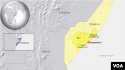 Lower Shabelle, Middle Shabelle and Bay regions of Somalia
