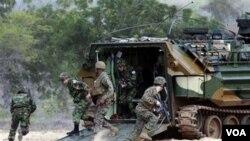 El Pentágono planea reducir de tamaño el Ejército y la Infantería de Marina a partir del 2015.