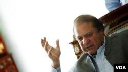 ພັກຂອງອະດີດນາຍົກລັດຖະມົນຕີປາກິສຖານ ທ່ານ  Nawaz Sharif ເປັນຜູ້ໄດ້ຮັບໄຊຊະນະ ໃນການເລືອກຕັ້ງ ໃນວັນເສົາທີ່ຜ່ານມານີ້.