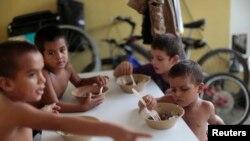 Honduraslı uşaqlar