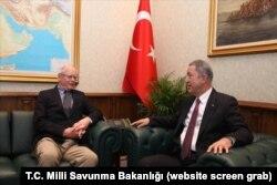 ABD'nin Suriye Özel Temsilcisi Jeffrey Ankara'da Milli Savunma Bakanı Akar ile görüştü