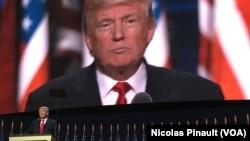 Tras la Convención Nacional Republicana en Cleveland, el nominado presidencial Donald Trump logra un impulso del 6% en encuesta de CNN.