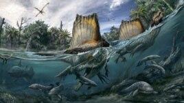 Spinosauri dhe misteret e evolimit të jetës