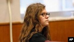 Anissa Weier, durant son procès au tribunal de Waukesha, Wis., 14 septembre 2017.