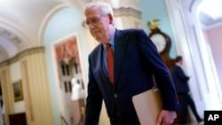 ABD Senatosu'ndaki Cumhuriyetçi Partililer'in lideri Kentucky Senatörü Mitch McConnell