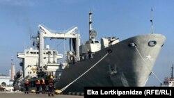 Корабли НАТО в порту Батуми. Архивное фото.