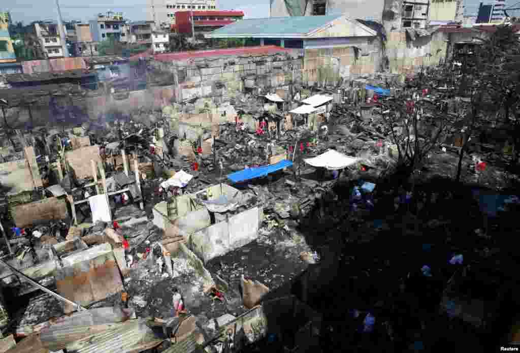 Filippin, to'fon oqibatlari