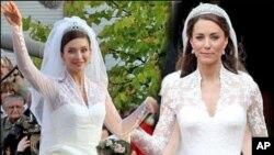برطانوی شہزادی مڈلٹن کے عروسی جوڑے پر بحث چھڑ گئی