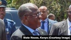 Le président John Magufuli, Tanzanie, 31 octobre 2017.