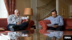 ایران کے وزیر خارجہ ظریف اور ان کے نائب روانچی