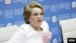 Valentina Matviyenko for Macedonia