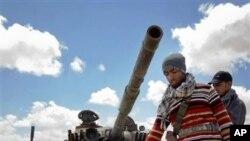 利比亞反政府戰鬥人員