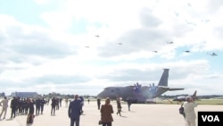 俄罗斯因素不会妨碍中国与乌克兰军事技术合作。2013年莫斯科航展上展出的乌克兰与俄罗斯联合生产的安-70军用运输机。安-70项目已经停止。乌克兰正寻求撇开俄罗斯重新启动这一项目。