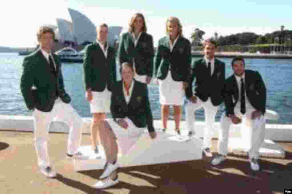 Yay Olimpiya oyunlarında Avstraliyanın rəsmi forması