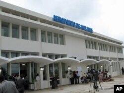 Edifício do terminal do aeroporto de Malanje