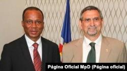 Primeiro-ministro, Ulisses Correia e Silva, e Presidente da República, Jorge Carlos Fonseca, Cabo Verde