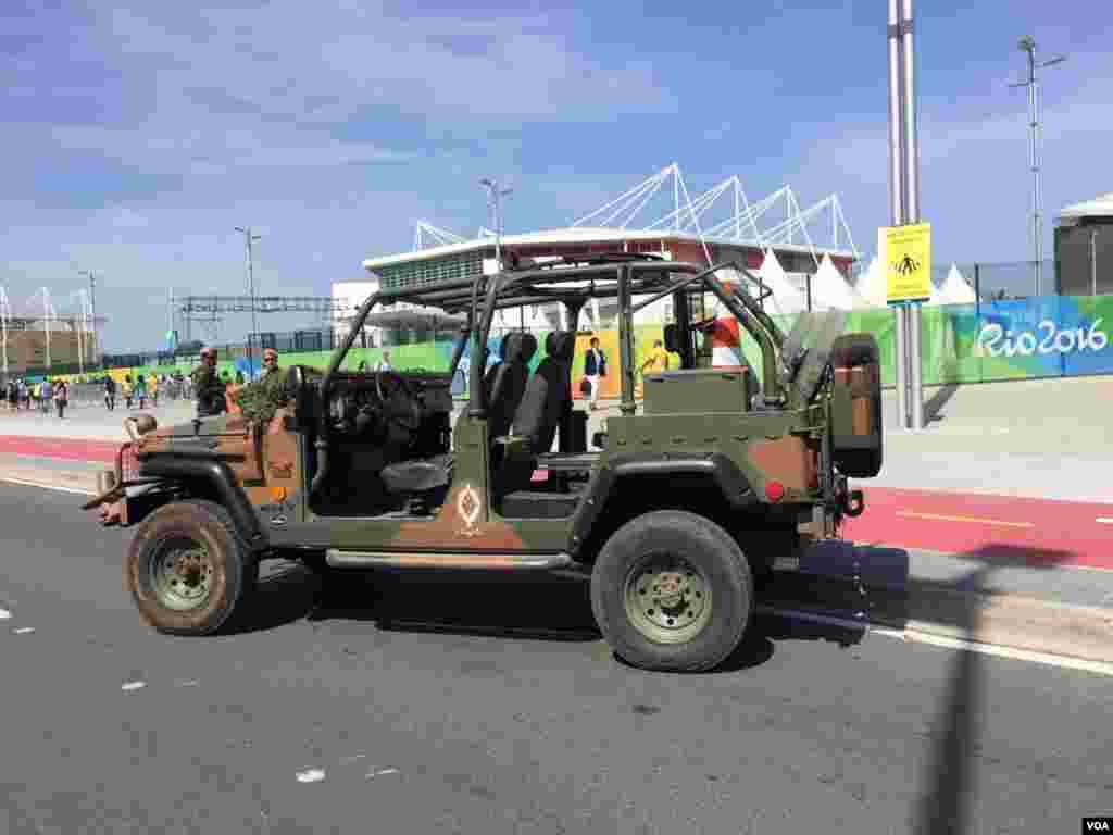 La seguridad rodea la villa olímpica y los suburbios de la ciudad carioca.