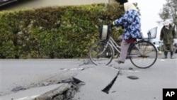 وقوع زلزلۀ تازه در جاپان