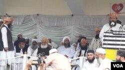 جمعیت علما اسلام (ف) آئندہ ماہ اسلام آباد میں مارچ کا ارادہ رکھتی ہے۔ (فائل فوٹو)