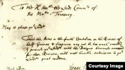 Một bản báo cáo của Isaac Newton trong thời gian đứng đầu sở đúc tiền, hiện lưu trữ tại Văn khố Quốc gia Anh. (Hình: Royal Mint Museum)