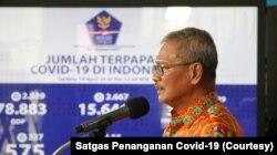 Juru Bicara menangani kasus virus koroner, dr. Achmad Yurianto | (Foto: Kesederhanaan / Covid-19 Satgas Penanganan)