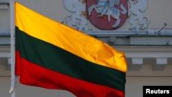 立陶宛旗幟。