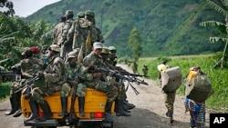 Des rebelles du M23 rebels dans l'est de la République démocratique du Congo