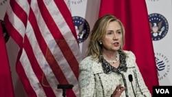 Sekretè Deta Etazini an, Hillary Clinton