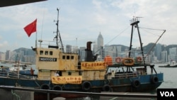 保钓船启丰二号返回香港