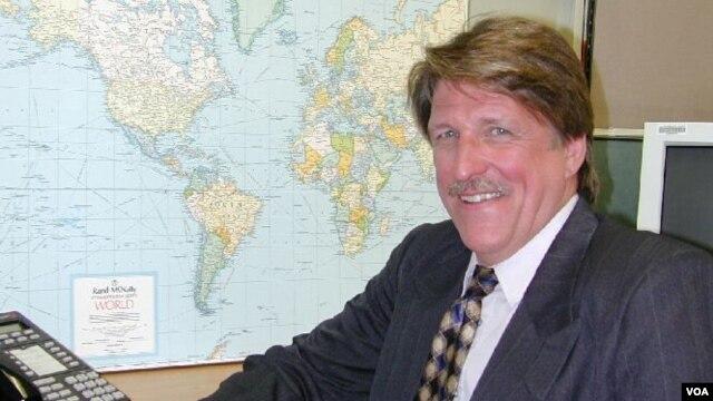 VOA Correspondent Scott Bobb