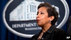 La Secretaria de Justicia ya había anticipado que aceptaría cualquier recomendación que hiciera el FBI y los fiscales federales sobre el caso.