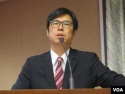 台灣在野黨民進黨立委陳其邁(美國之音張永泰拍攝)