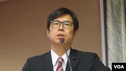 台湾在野党民进党立委陈其迈(美国之音张永泰拍摄)