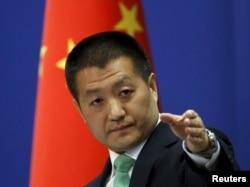 中国外交部发言人陆慷(2015年10月27日)